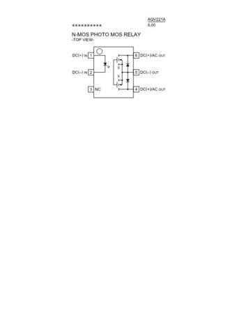 SEMICONDUCTOR DATA AQV221AJ Manual by download Mauritron #187102