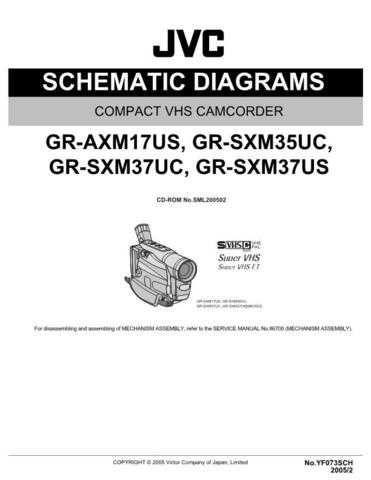 JVC GR-SXM37SCH Service Schematics by download #155839