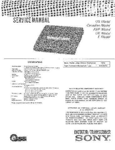 SONY BM-88 Service Manual by download #166331