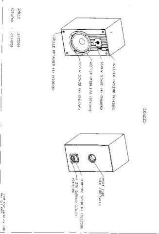 INFINITY TX-235 Service Manual by download #151717
