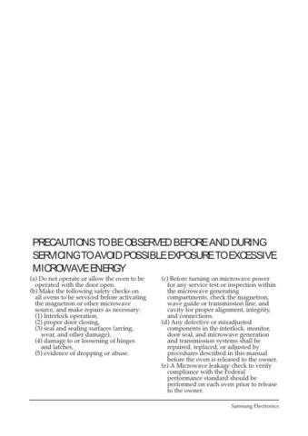 Samsung MW5480W XAA10029102 Manual by download #164723