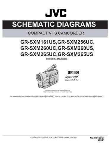 JVC GR-SXM260USSCH CDC-1441 by download #155813