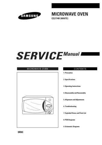 Samsung CE2774R BWTSMSC101 Manual by download #163858