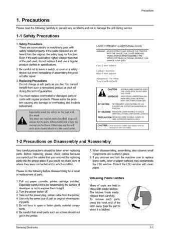 Samsung ML-1210 XAA0000051600E02 Manual by download #164534