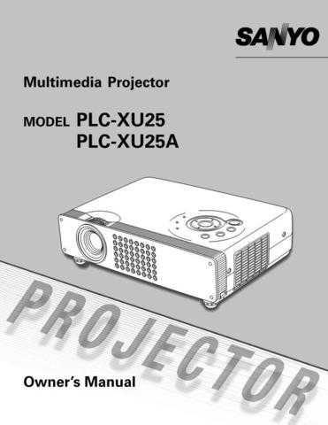 Sanyo PLC-XU55-02 Correction Manual by download #175049