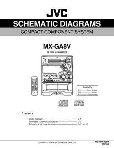 JVC MX-GA8Vsch Service Schematics by download #156318