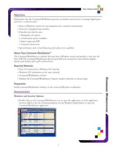 Minolta COMMAND WORKSTATION DEMO Service Schematics by download #136696