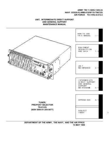 Military TN612-24 Service Schematics by download #156837