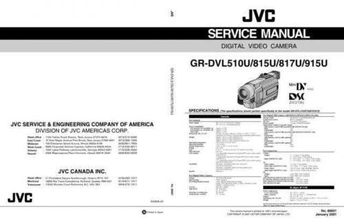 JVC GR-DVL510U CDC-1441 by download #155686