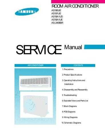 Samsung AS18A1UE XST81613101 Manual by download #163648