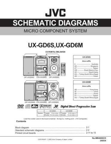 JVC UX-g6s Service Manual by download #156605
