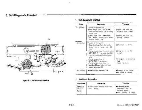 MITA DC-1205 Trouble & Parts Service Manual by download #138338