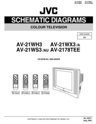 JVC 52011SCH Service Schematics by download #122184
