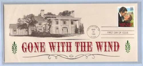 CA Hollywood First Day Cover Gone With The Wind~1