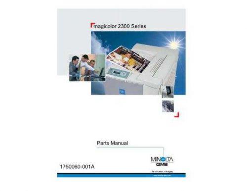 KONICA Konica minolta qms magicolor 2300 partmanual CDC-1027 by download #13788