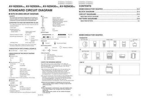 JVC AV-N29430sch Service Schematics by download #155422