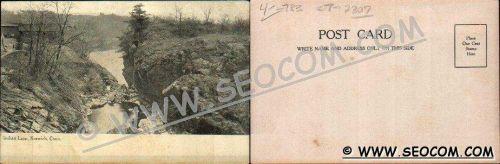 CT Norwich Postcard Indian Leap ct_box4~2307