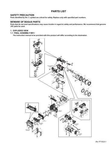 JVC GZ-MC500US PART Service Schematics by download #155884