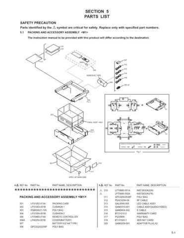 JVC SR-VS30U parts Service Manual by download #156519