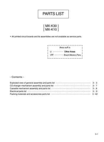 JVC MX-K30uw part Service Manual by download #156368