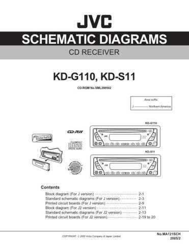 JVC KD-S11J sch Service Schematics by download #156131