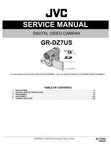 Yf053 Service Schematics by download #132282