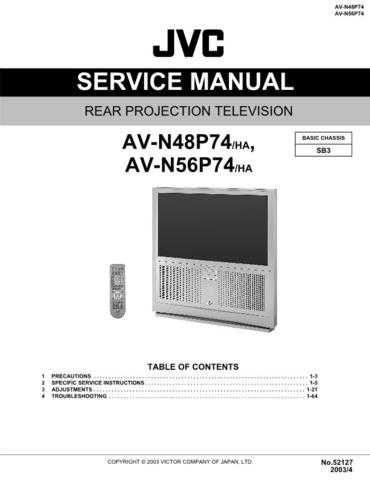 JVC AV-N48P74 Service Schematics by download #155446