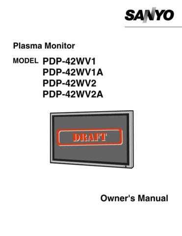 Sanyo PDP32H1A(SM5110287-00) schematics Manual by download #174657