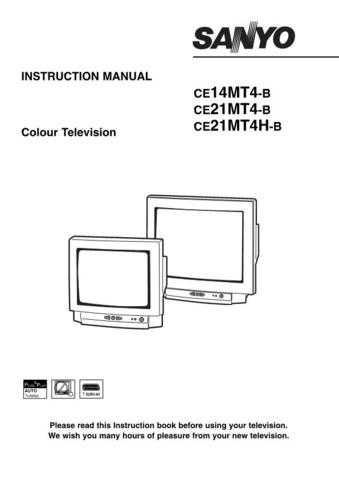 Sanyo CE21MT4-B Manual by download #172952