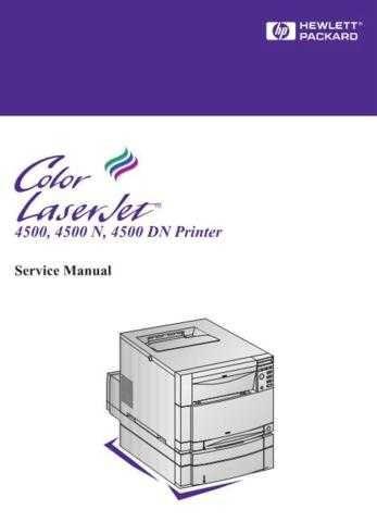 Hewlett Packard CLJ4500 20 20 Service Manual by download #155222