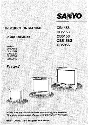 Sanyo CB5956 CDC-1521 by download #171312