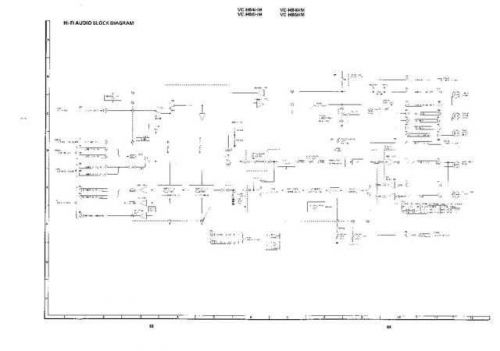 Sharp VCH84HM-027 Service Schematics by download #158628