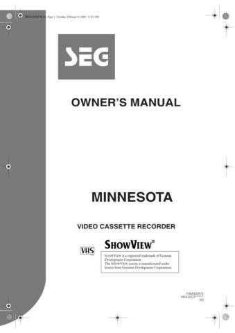 Funai MINNESOTA HK412ED(EN) 0208 Manual by download #162798
