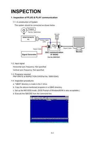 Mitsubishi Diamond Pro 730 05 INSPEC Service Schematics by download #156853