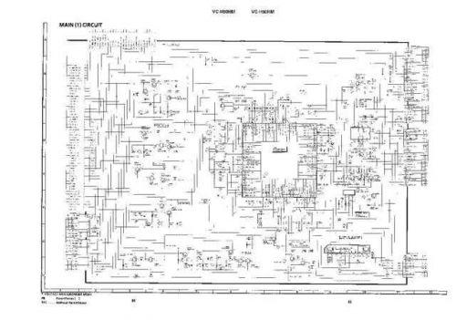 Sharp VCH92HM-022 Service Schematics by download #158699