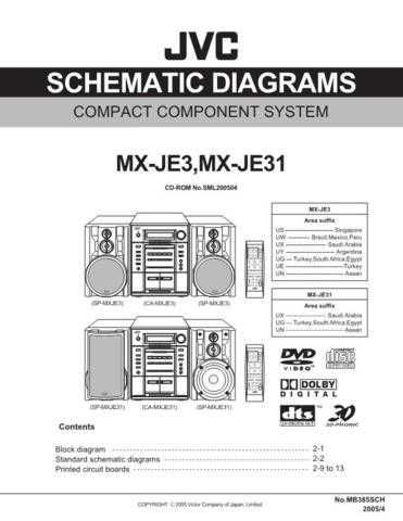 JVC MX-JE3sch Service Manual by download #156359