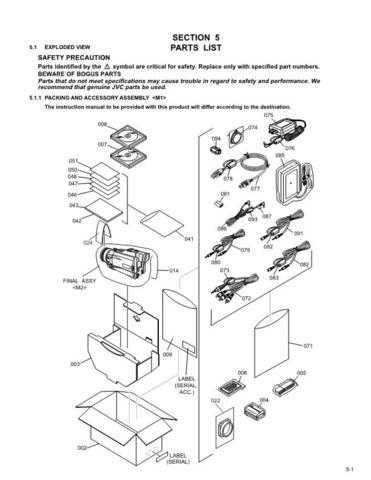 JVC GR-DV800U part CDC-1441 by download #155655