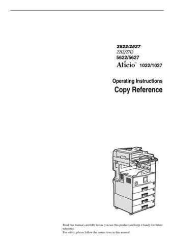 Gestetner B022 Operating Guide by download #155182
