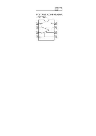 SEMICONDUCTOR DATA UPC311CJ Manual by download Mauritron #191381