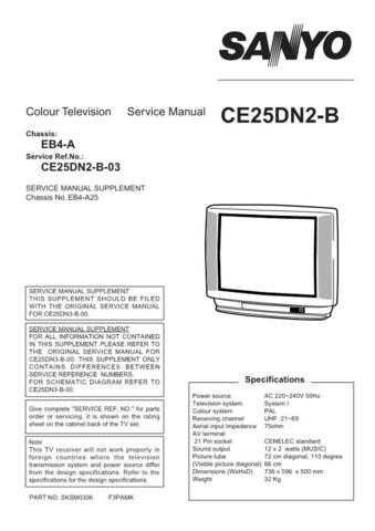 Sanyo CE25DN2-B-03 Manual by download #173020
