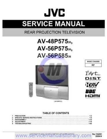 Sharp AV-56P575 Manual by download #179723