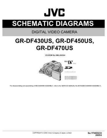JVC GR-DF450US sch Service Schematics by download #155636