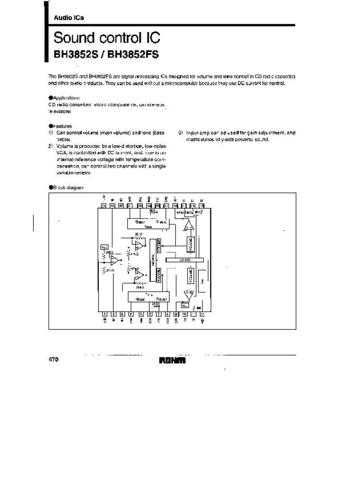 MODEL BH3852FS Service Information by download #123787