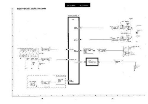 Sharp VCS1000H-006 Service Schematics by download #159313