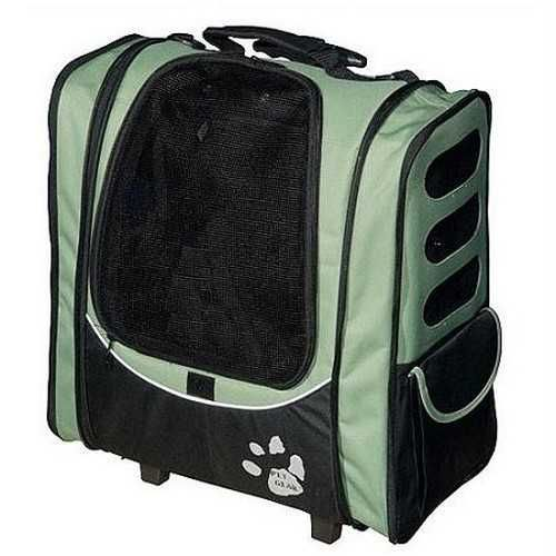Pet Gear I-GO2 Escort Pet Carrier Car Seat Backpack Sage