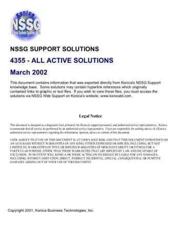 Konica 4355 Service Schematics by download #136185
