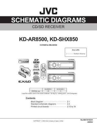 JVC KD-SHX850 sch Service Schematics by download #156201