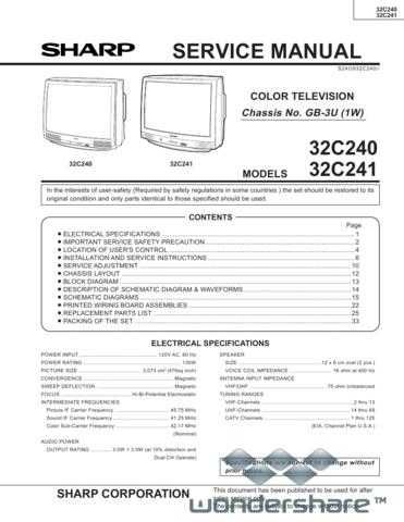 Sharp 32C240-241 Manual.pdf_page_1 by download #178230