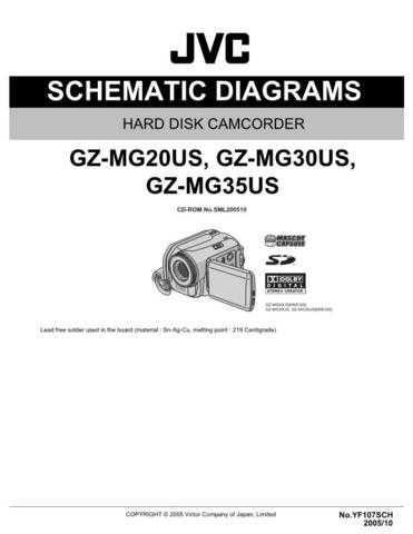 JVC GZ-MG20US sch Service Schematics by download #155888