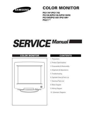 Samsung PG17NSBU EDCZC012E01 Manual by download #164987